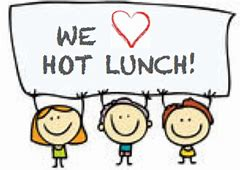 Hot Lunches is ready for ordering!